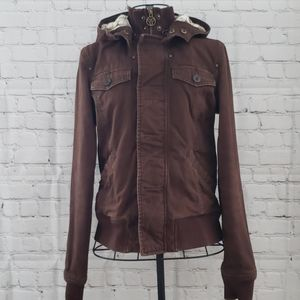 TNA brown Jacket  Sz Small